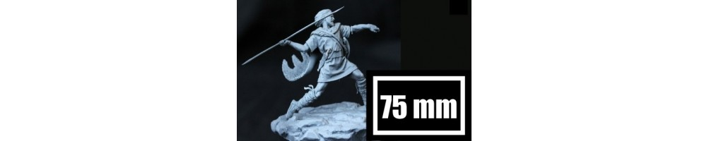 75 mm scale figures plastic model kits
