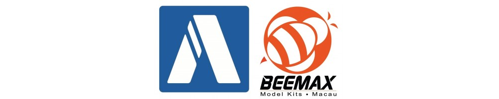 Aoshima / Beemax 1/24 cars plastic model kits