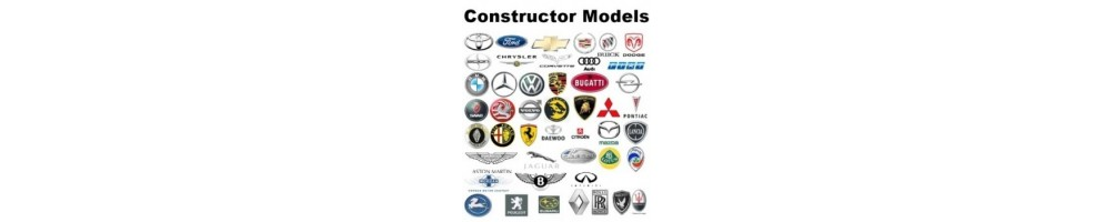 Constructor Models diecast models 1/43 scale