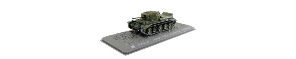 Diecast military vehicle miniatures