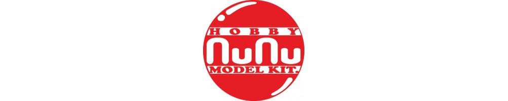 Nunu 1/24 cars plastic model kits.