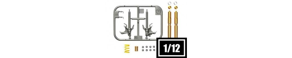 1/12 Scale Conversion & Detailing Sets for Model Kits