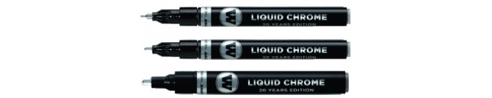 Molotow pens and markers - Liquid Chrome