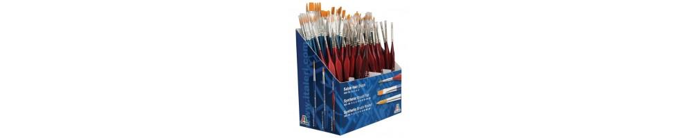 Model kit brushes