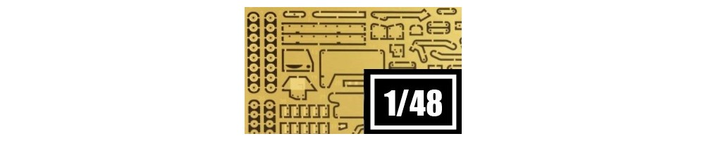 1/48 Scale Conversion & Detailing Sets for Model Kits
