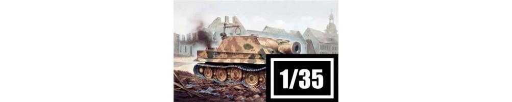Kits de modelismo de tanques 1/35
