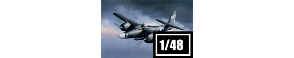 1/48 scale aircraft model kits