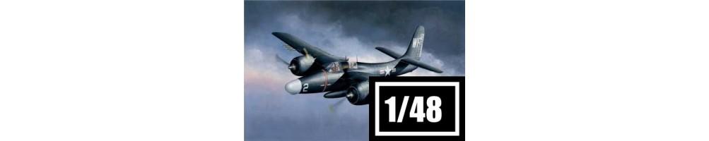 Kits de modelismo de aviões 1/48