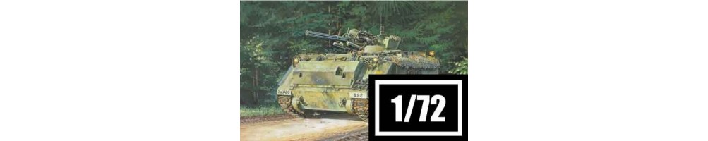 Kits de modelismo de veículos militares 1/72