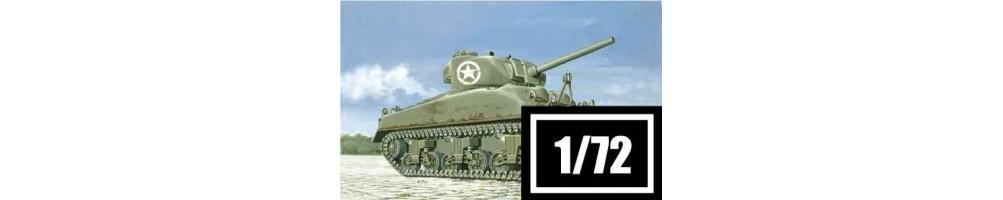 Kits de modelismo de tanques 1/72