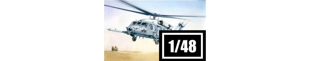 Kits de modelismo de helicópteros 1/48