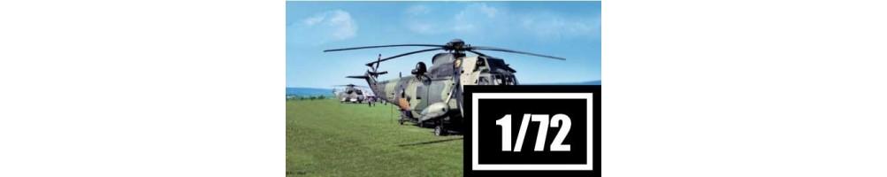 Kits de modelismo de helicópteros 1/72