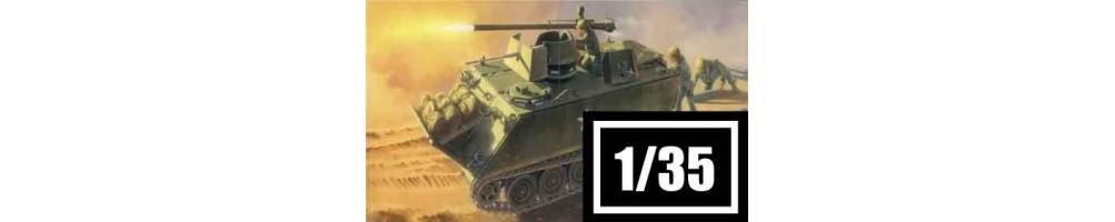 Kits de modelismo de veículos militares 1/35